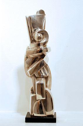 L'INCONNUE, 2006  Silver  cm 43.5 x 12 x 12  Ed 1/6 - VARI 071