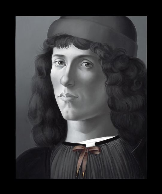 WAT 051 Mary A Waters   Portrait no 13,2012  oil on linen cm 95x80