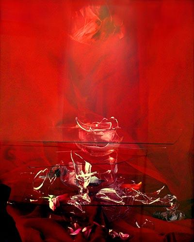 """""""Nature Morte"""" (1/3), 1998  Cibachrome on aluminium 150 x 120 cm, APP 024"""