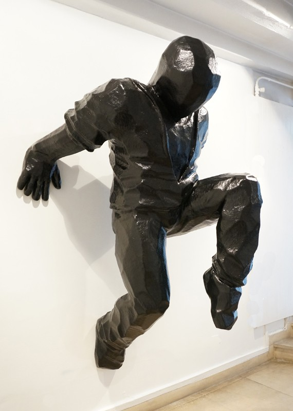 Cyrille AndréWall Runner 1, 2016 Polyester Resin cm 180 x 125 x 96 CA 114