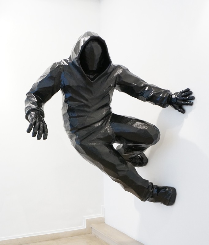 Cyrille AndréWall Runner 2, 2016 Polyester Resin cm 170 x 142 x 110 CA 115