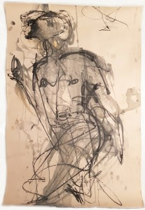 Claudia PiscitelliUntitled, 2015charcoal, pastels and ink on papercm 79 x 63(CPI 006)