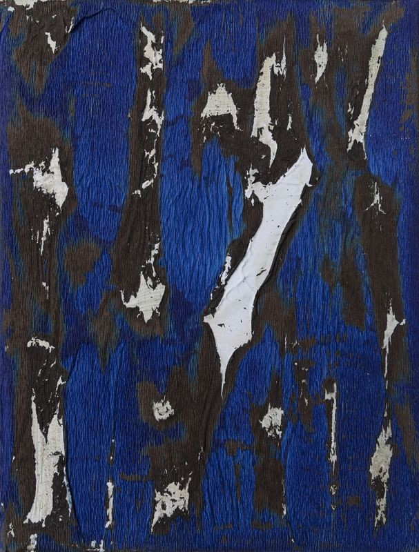 Jean BoghossianUntitled, 2018Acrylic and burnt paper on canvascm 24 x 18,5(JBO 028)