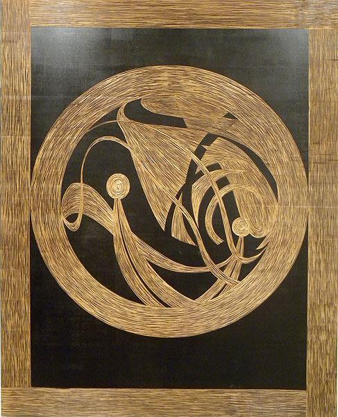 BIAN 004 Untitled (4),2011  metal engraving and wood cm 140 x 110.jpg