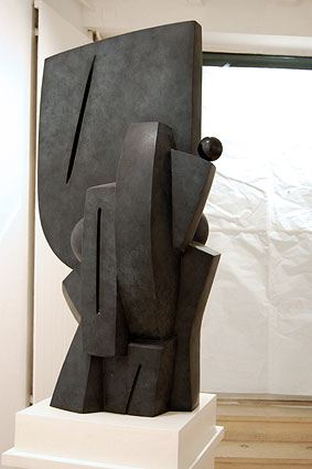 AILES SAUVAGES, 2005  Bronze, grey patina and black colour  cm 104 x 50 x 43  Ed 1/3 - VARI 051