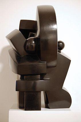 AFFIRMATION, 2006  Bronze, black patina  cm 35 x 26 x 22  Ed 1/6 - VARI 068