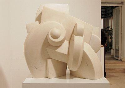 cLE JOUR DES JOURS, 2005  Marble  cm 58 x 40 x 52  Unique - VARI 075