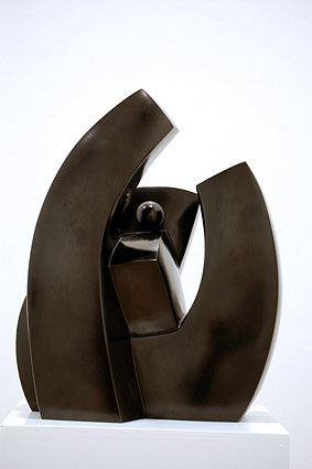 DEPLOIEMENT, 2006  Bronze, black patina  cm 31.5 x 26.5 x 20  Ed: 1/6 - VARI 076