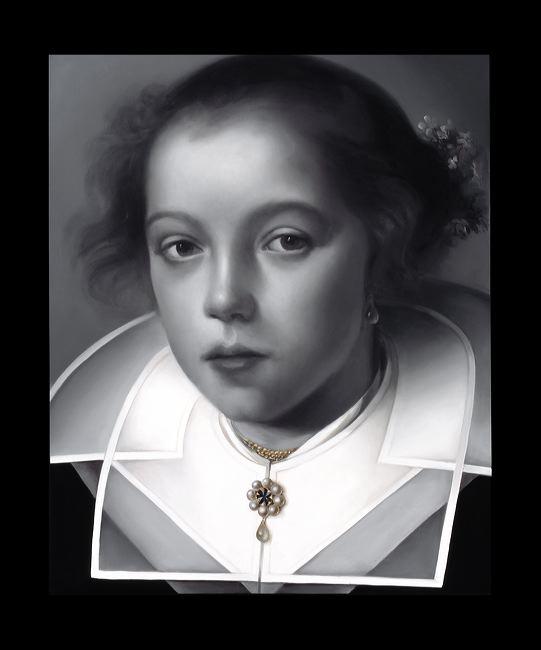 WAT 049 Mary A Waters   Portrait no 11, 2012  oil on linen cm 95x80